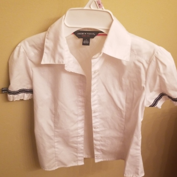 French Toast Other - Girls button down uniform shirt